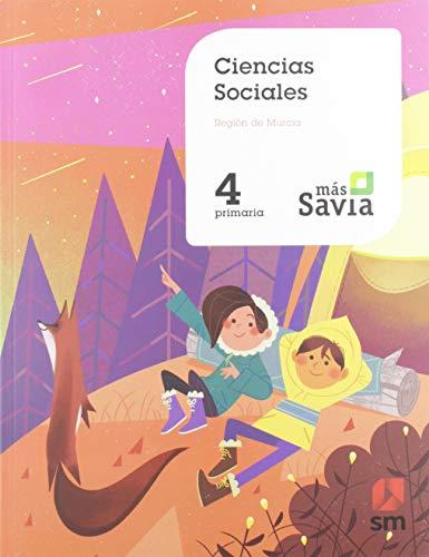 Ciencias sociales. 4 Primaria. Mas Savia. Murcia