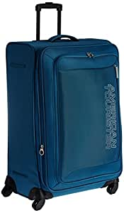American Tourister Mocha Polyester 76cms NS Blue Softsided Suitcase (42W (0) 01 003)