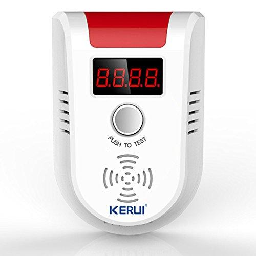 KERUI Sans Fil Numérique LED Affichage Combustible Détecteur De Gaz Naturel/Butane/Propane/Méthane Flash Gaz Capteur Pour Domicile Personnel Coffre-Fort Sécurité Alarme Système