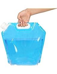 Boli Depósito de agua Contenedores de agua, plegable y flexible envases de 10 litros - de calidad alimentaria