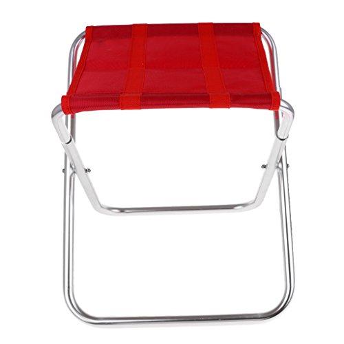 Homyl Klappbarer Campingstuhl, ultraleichter Faltbarer Strandstuhl – Tragbarer Outdoor Stuhl,...