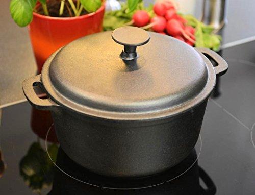 Cast Iron Casserole Dish 24 CM (3,7L Kazan)