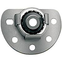 Schellenberg 83501 - Soporte de pared con rodamiento de bolas para ejes octogonales con un diámetro de 60 a 70 mm