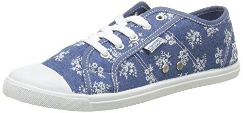 Kappa Keysy, Baskets Basses femme Bleu (Blue)
