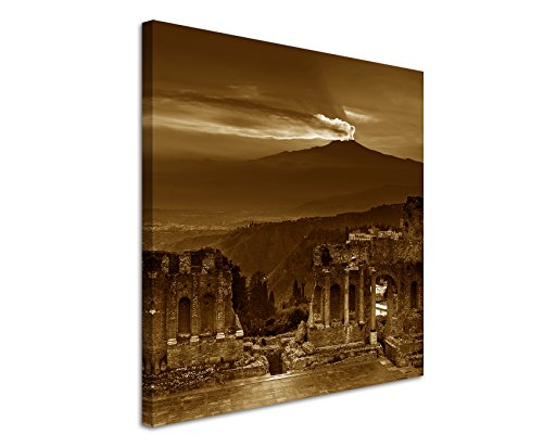 60-x-60-cm-wall-canvas-in-sepia-photographic-ruins-flavian-amphitheatre-atna-sunset