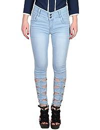 Broadstar Women's Slim Fit Jeans (1316, ICE, 30)