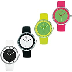CLOCK IN COLOURED SILICONE, MASCAGNI TO 236