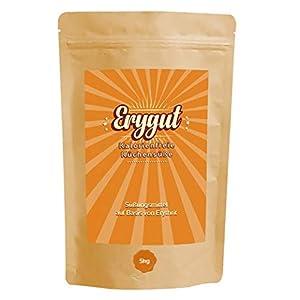Erygut Basic 5kg / 5000g   Kalorienfreier Zuckerersatz aus Erythrit  ...