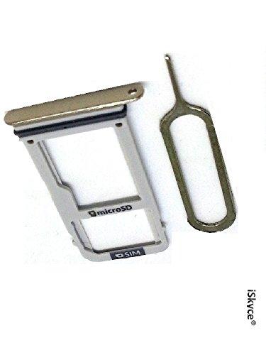 iSkyce 120U2 für Samsung Galaxy A3 (2017) A320 Dual SIM Karte und SD Karte Gold mit 1 Auswerferschlüssel, reparieren Sie Ihr Handy ohne zu viel Schwierigkeiten.