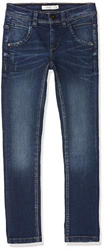 NAME IT Jungen NKMSILAS DNMTROELS 3155 Pant NOOS Hose, Blau (Dark Blue Denim), Herstellergröße:164