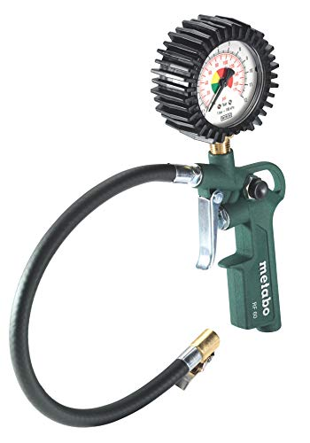 Metabo RF 60, 6.02233.00 - Manometro per pneumatici da 0 a 12 bar