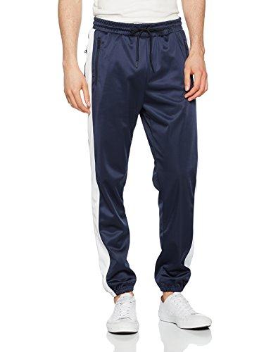 Preisvergleich Produktbild Urban Classics TB1600 Herren Relaxed Sporthose Track Pants TB1600, Gr. 46 (Herstellergröße: M), Mehrfarbig (navy/wht 159)