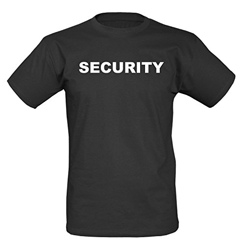 BW-ONLINE-SHOP Security T-Shirt I schwarz - 3XL