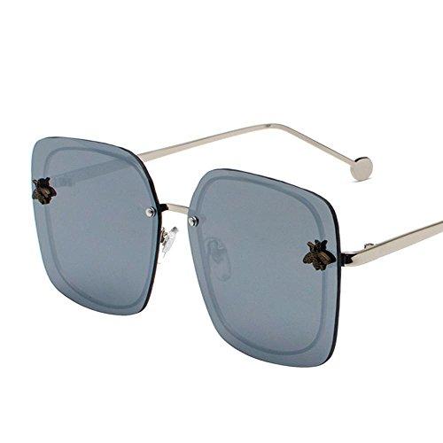 Luziang Sonnenbrille Sonnenbrille Frauen Runde Farbe Runde konfrontiert,Fahren, Reisen, Outdoor-Sport