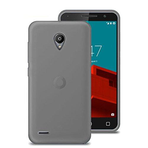 TBOC® Funda de Gel TPU Negra para Vodafone Smart Prime 6 VF-895N de Silicona Ultrafina y Flexible