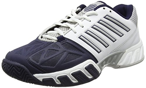 K-Swiss Performance KS Tfw Bigshot Light 3, Zapatillas de Tenis para Hombre, Blanco (White/Navy 37), 43 EU