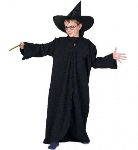stüm Zauberer-Mantel, Halloween: Größe: 128-140 (Kinder Kreative Halloween-kostüme)