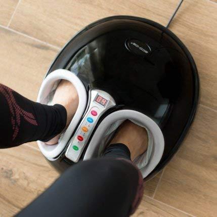 ECO-DE Masajeador de pies con Sistema Pressing (Airbags) y Rolling Termoterapia