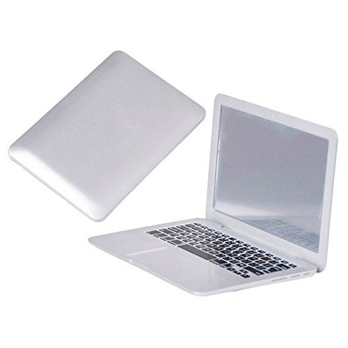 Blusea Espejo de Mano Pocket Laptop, Regalos Espejo de Maquillaje, Espejo de Mesa Mini para Mujeres...