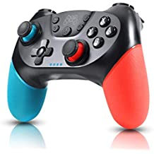Zexrow Mando para Nintendo Switch, Mando Pro Controller Mando pc Inalambrico con Función Gyro Axis/Dual Shock y Turbo Compatible con Nintendo Switch