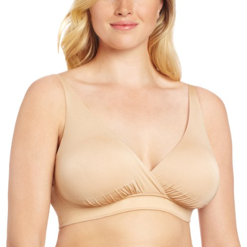 Bella Materna Women's Maternity Anytime Nursing Bra, Bare, X-Large