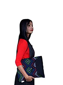 Empower Idu Mishmi Laptop Slipcase (Multi-Coloured Black)