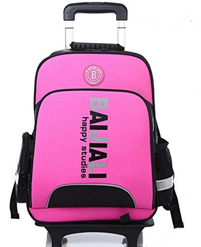 yaagle-unisex-telescopic-handle-oxford-fabric-grade-3-to-6-leisure-kids-students-sports-travel-shopp