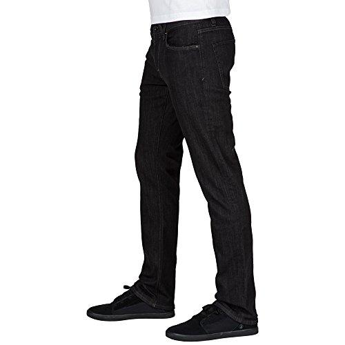 Volcom Herren Jeans Vorta Denim Schwarz (black Rinser)