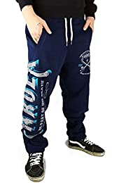 YAKUZA Herren Jogging Sweat Hose FIGHT FAITH JOGGER Mood Indigo 9038