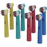 Omagek enfants de remplacement Têtes de brosse à dents Eb-10a Compatible avec Braun/Oral-B ()