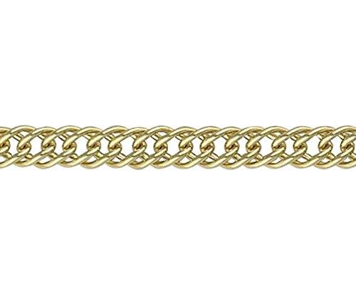 18ct Or jaune Gourmette Français 119,1cm/19cm Bracelet