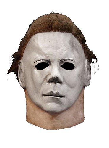 Halloween II Latex Maske Michael Myers zum Psycho Mörder (Serienkiller Kinder Kostüm Für)
