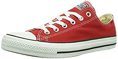 Converse AS Season Ox Can ch. Trainers Unisex-Adult Red Size: 36.5