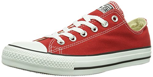 Converse Chuck Taylor All Star Adulte Seasonal Ox 15762 Unisex - Erwachsene Sneaker Rot (4 ROUGE BRIQUE)