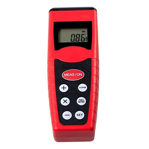 Huihuiya Entfernungsmesser-Entfernungsmesser des elektrischen Infrarot-Laser-CP3000 Ultraschallrot-Schwarzes