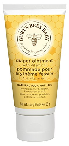 Burt's Bees Baby Bee Diaper Ointment (Baby-Wundsalbe), 1er Pack (1 x 85 g)