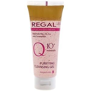 Regal Q10+ – Gel Limpiador para Piel Seca y Sensible
