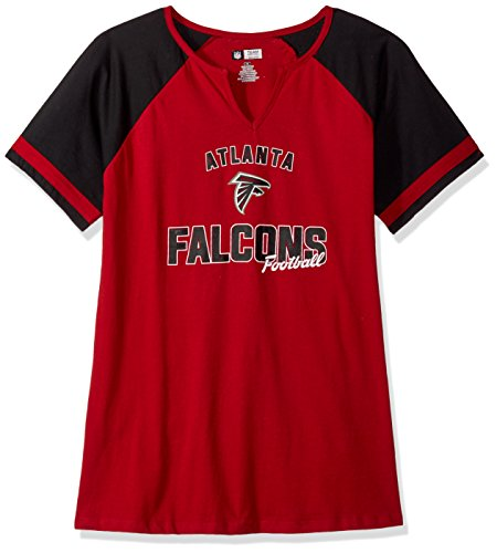 NFL TEAM APPAREL Damen hernptkam Patriots Poly Tricot Track Jacket-Navy/red-4X, Damen, HERNPTKAM, Cardinal/Black - Neck Track Jacket