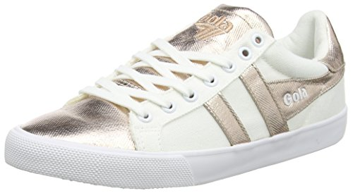 Gola Damen Orchid Textile Sneaker Weiß (White/rose Gold)