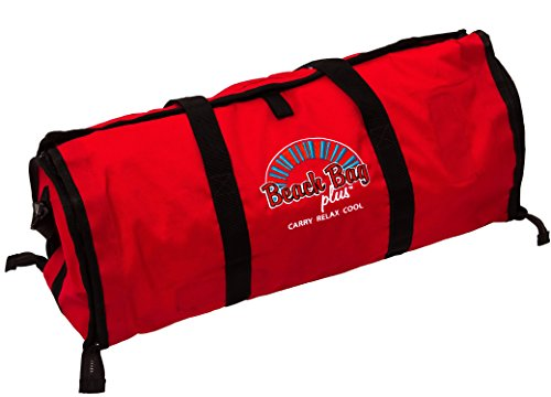 red-beach-bag-size-65cm-x-24cm-x-24cm-shoulder-holiday-tote-picnic-mat-sun-lounger-cover