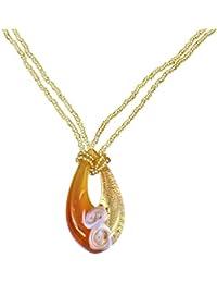 Alek Sander Stars La Barca Ladies 'Necklace Popcorn Sterling Silver rutheniert 78OHwQ7