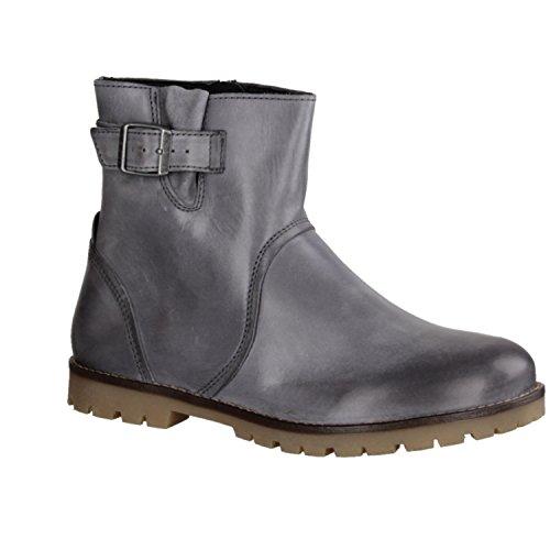 Birkenstock, Stivali donna nero Nero grigio Size: 40