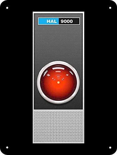 108de2f6c84225 C-US-lmf379581 Metal Sign 1968 HAL 9000 di 2001 Space Odyssey Riproduzione  20