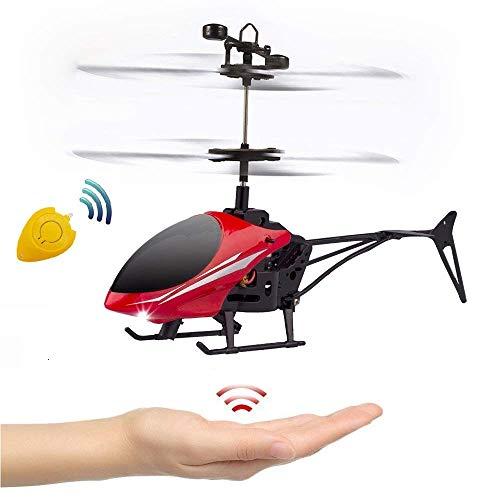 Hubschrauber Ferngesteuert, Fliegendes Spielzeug RC Helikopter Fernsteuerungshubschrauber Mini RC Fliegen Hubschrauber, Infrarot-Induktions-Hubschrauber, RC Flugzeug Spielzeug Geschenk für Kinder