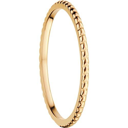 Bering Damen-Ring InnenRing Edelstahl teilvergoldet Gr. 65 (20.7) - 562-20-90