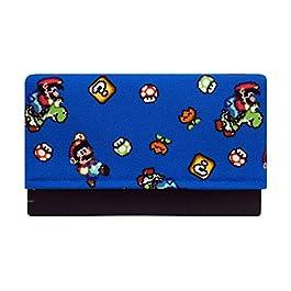 Active Patch Custodia imbottita per calzino realizzata per Nintendo Switch Taglia unica Design frontale (Nero Back)