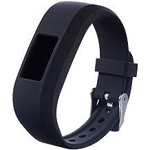For Vivofit JR.2 Bands, Small Replacement Wristbands for Garmin vivofit JR2, Active Bright Colors Silicone Straps for Garmin vivofit jr. 2, Black