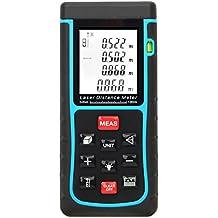 KKmoon RZE-100 100metro Metro Distanza Laser Cercatore Gamma Misura Distanza Area Volume Bolla Livello