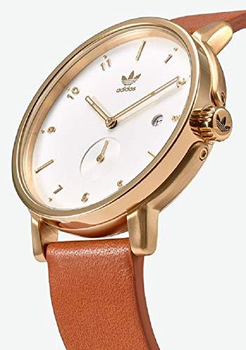 Adidas by Nixon Herren Analog Quarz Uhr mit Leder Armband Z12-2548-00
