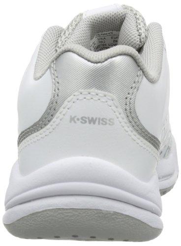 K-Swiss Performance - Sandali infradito ULTRASCENDOR OMNI, Bambina Bianco (Weiß (White/Silver))